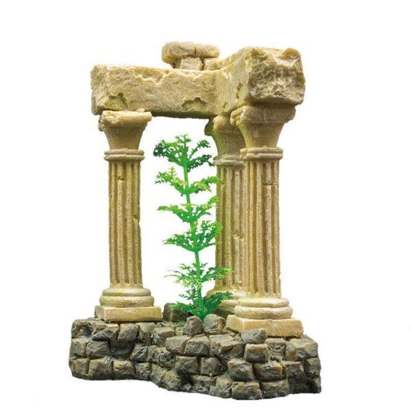 3 colonnes romaines aquarium