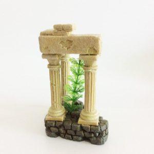 3 colonnes romaines aquarium decoration