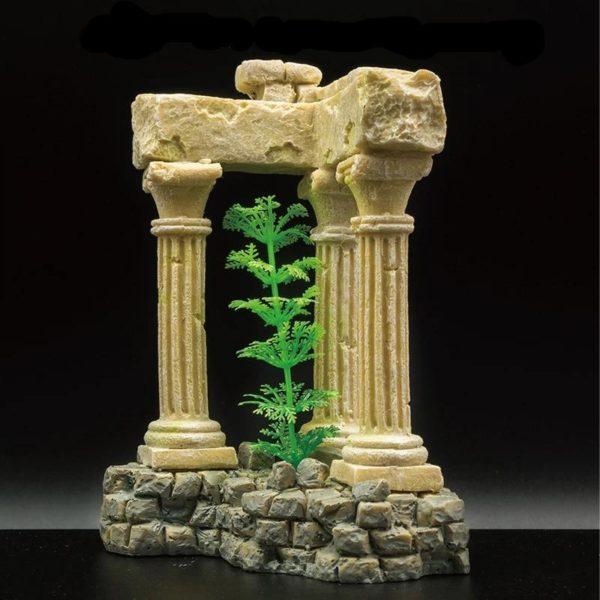 3 colonnes romaines pour aquarium