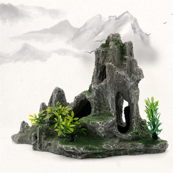 Rocher Imposant décoration aquarium