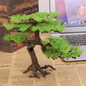 Arbre artificiel Bonsai pour aquarium