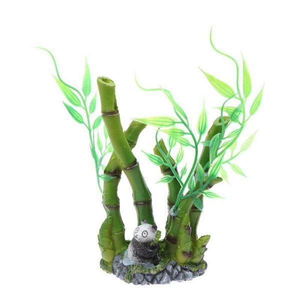 Bambou decoration aquarium