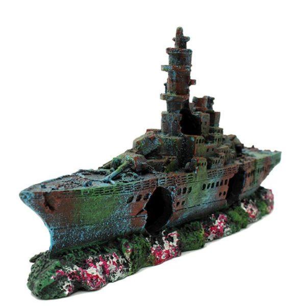 Bateau de guerre décorations