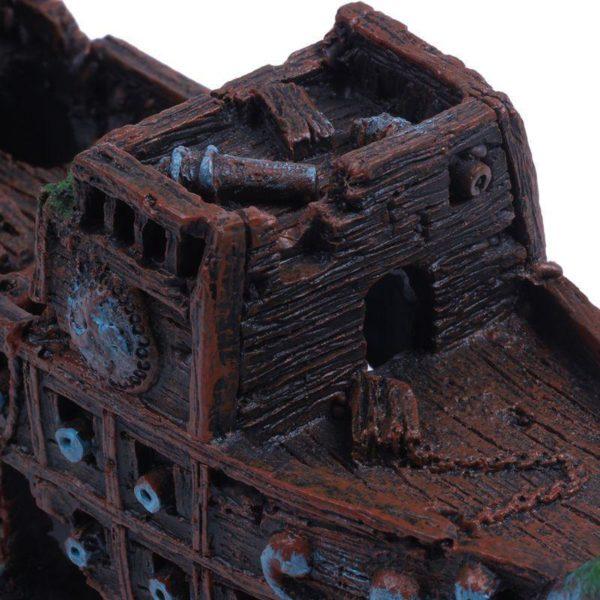 Bateau pirate hanté décoration