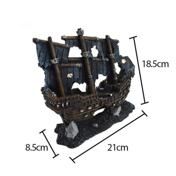 Bateau pirate décoration