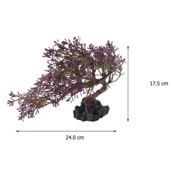 Bonsaï Violet décoration aquarium