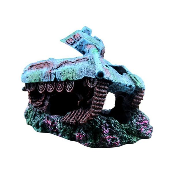 Carcasse De Tank decoration aquarium