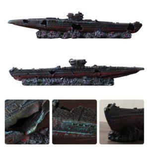 Carcasse de bateau de guerre déco