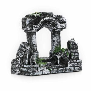 Colonnes romaines en ruines aquarium