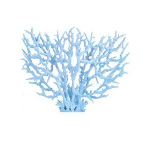 Corail artificiel bleu pâle aquarium