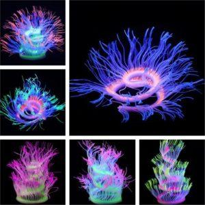 Corail artificiel fluorescent decoration