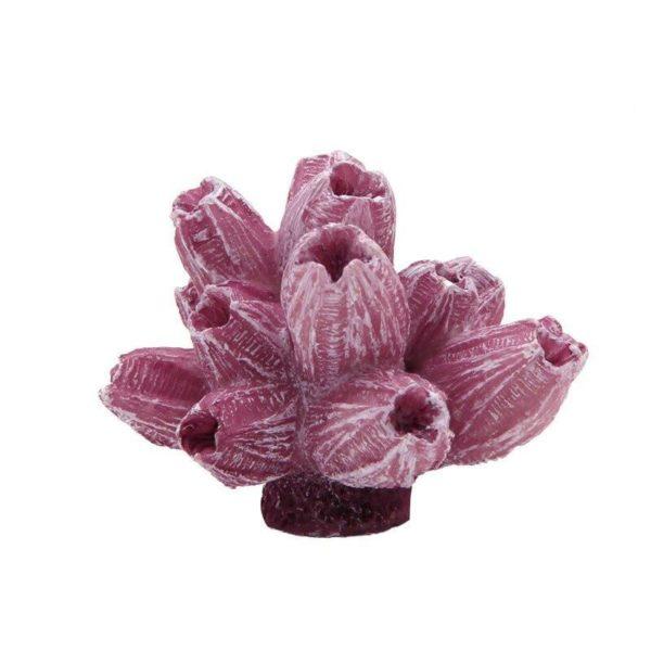 Coraux artificiels rose