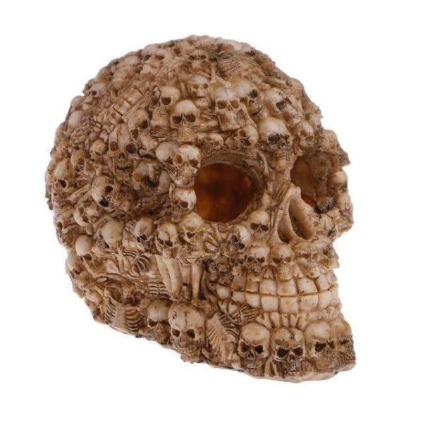 Crâne aux mille têtes de morts aquarium