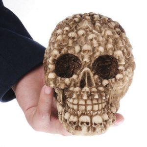 Crâne aux mille têtes de morts pour aquarium
