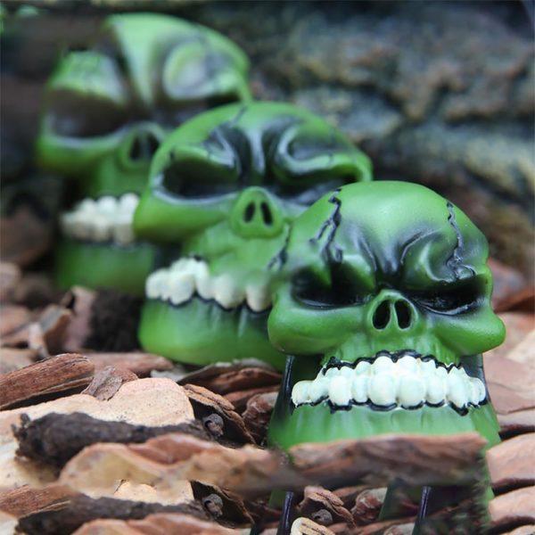 Crâne de Zombie décoration aquarium