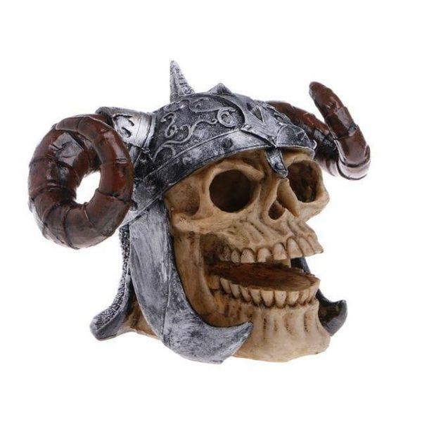 Crâne de viking aquarium