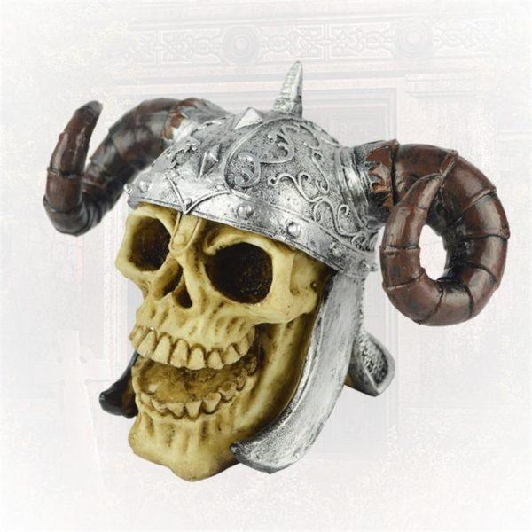 Crâne de viking pour poissons