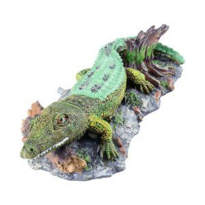 Crocodile décoratif aquarium
