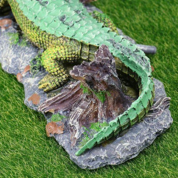 Crocodile décoratif décorations