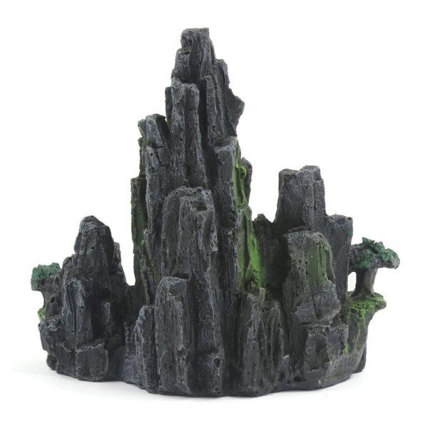 Décor rocheux de montagne aquarium decoration