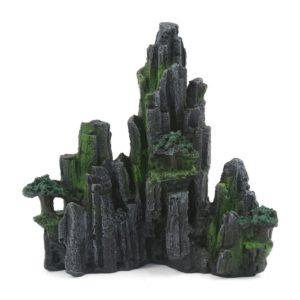 Décor rocheux de montagne aquarium pas cher