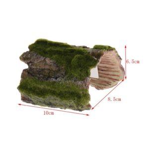 Ecorce de bois artificielle d'aquarium