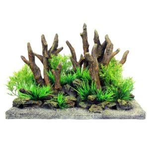 Forêt sur Pierre decoration aquarium