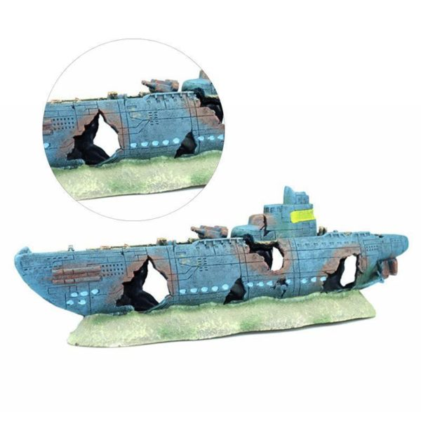 Grand bateau aquarium
