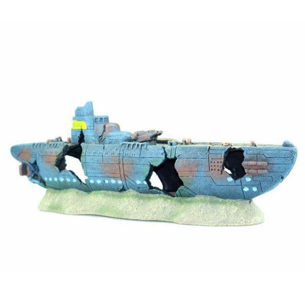 Grand bateau poissons