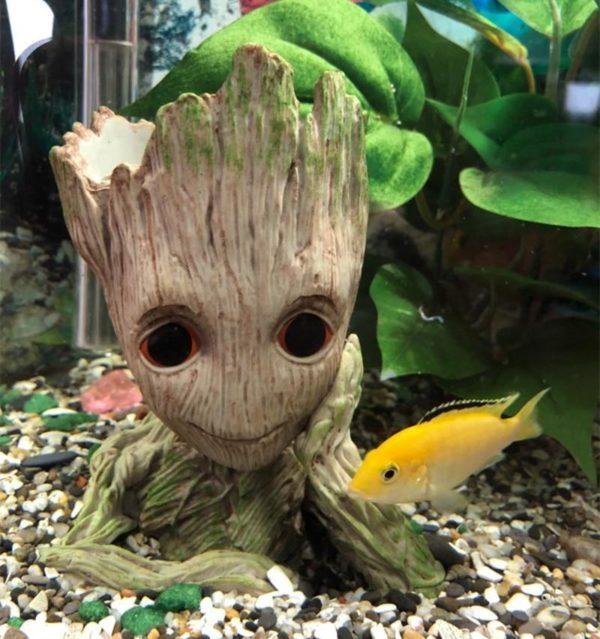 Groot des Gardiens de la galaxie decorations aquarium