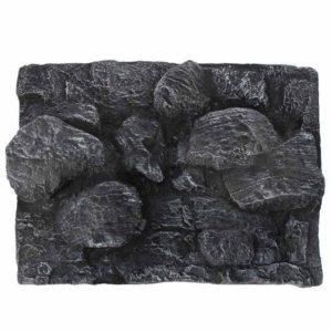 Gros rochers en relief aquarium