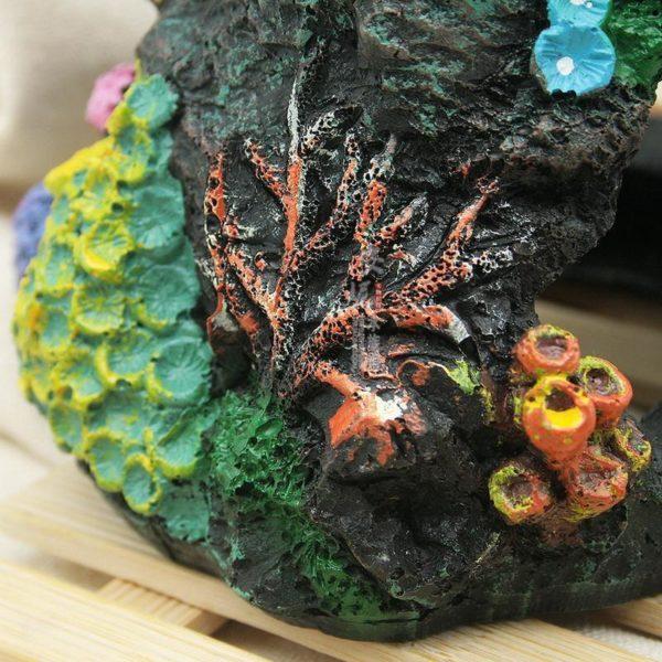 Grotte avec coraux pour poissons deco
