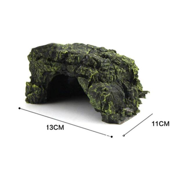 Grotte lisse en résine deco