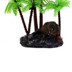 Île miniature deco aquarium