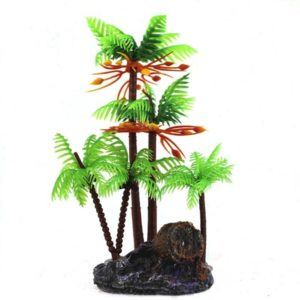 Île miniature decoration aquarium