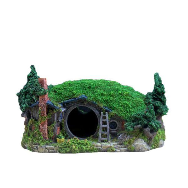 Maison Hobbit decoration aquarium