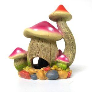 Maison champignon decorations aquarium