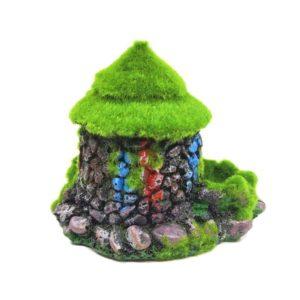 Maison en pierres colorées aquarium decoration