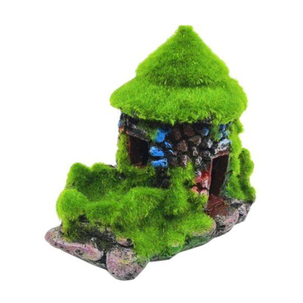Maison en pierres colorées aquarium pas cher