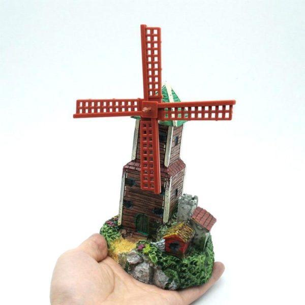 Moulin avec sortie d'oxygène deco