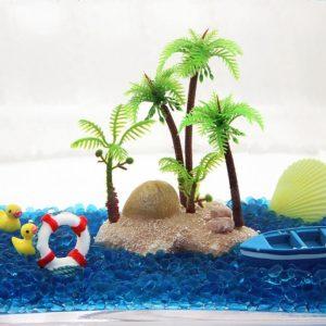 Palmiers aquarium pour poissons