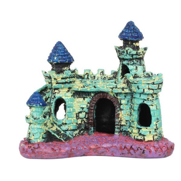 Petit château médiéval coloré decoration