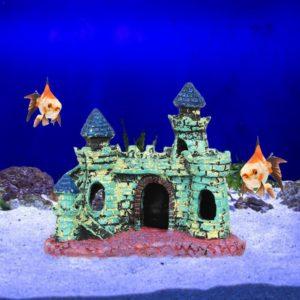 Petit château médiéval coloré pas cher