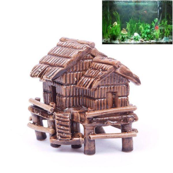 Petite maison sur pilotis déco