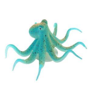 Pieuvre fluorescente d'aquarium