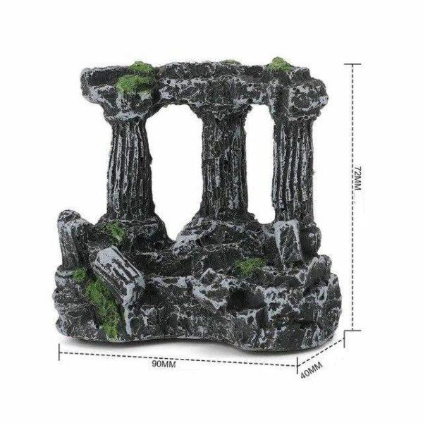 Piliers d'arène romaine en ruine pas cher