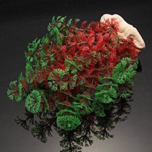 Plante artificielle Verte et Rouge deco