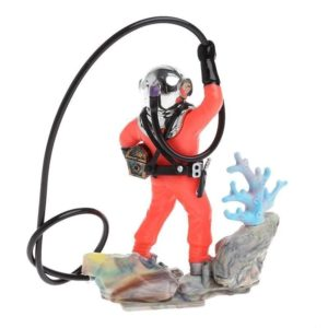 Plongeur et son corail décoration