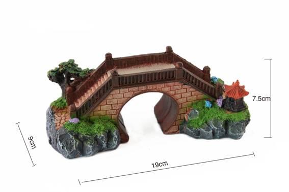 Pont Symétrique deco aquarium