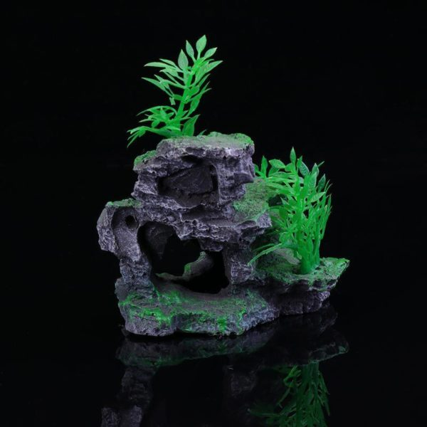 Rocher Surélevé déco aquarium